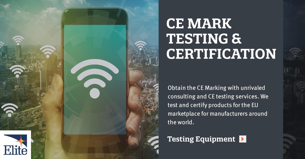 CE Marking | CE Testing Lab & Certification Service | Elite