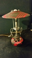 Steampunk lamp stan Elite EMC testing