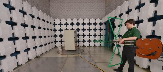testing chamber at elite
